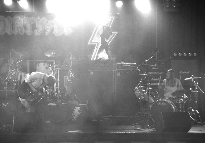 full band black and white 2